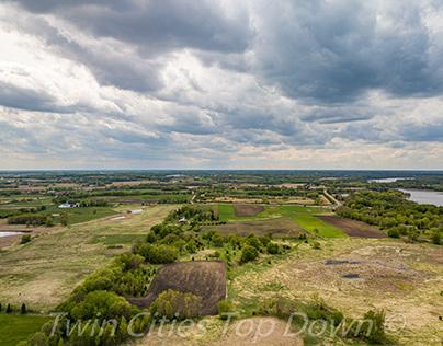 8245 Deer Creek Drone Shots