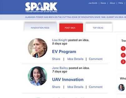 Website Design - Artwork for innovation website