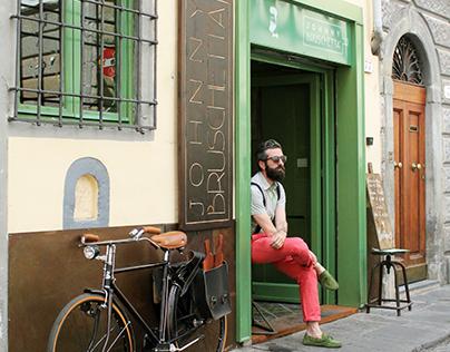 Johnny Bruschetta - Florence, Italy