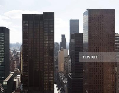 NYC panoramic skyline