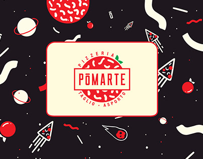Pizzeria - Pōmarte | Logo, Branding, Design.
