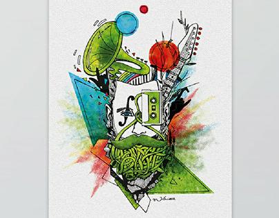Music Festival Illustrations