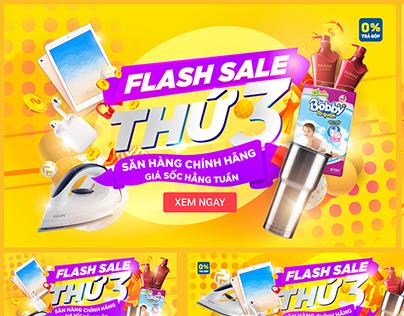 Tiki - Flash Sale Thứ 3 Landing page