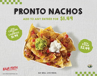 Pronto Nachos - Baja Fresh