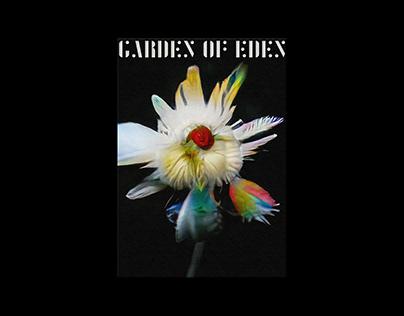 Garden of Eden   AI Generated Flowers