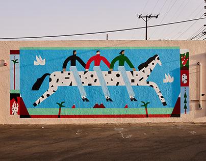1700 Naud Mural