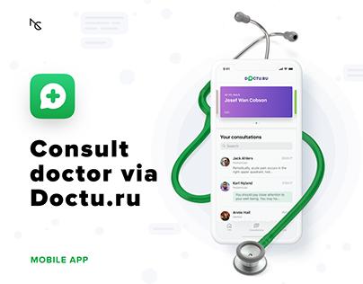 Doctu.ru – Doctor Consultation App