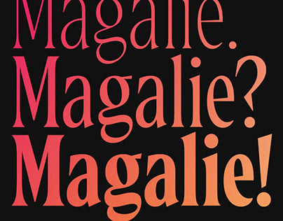 Magalie Typeface