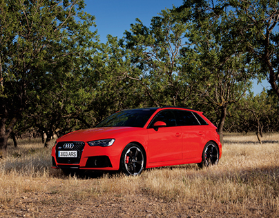 RS 3 sportback For Audi Magazine