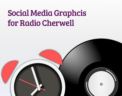 Radio Cherwell - Social Media Graphics