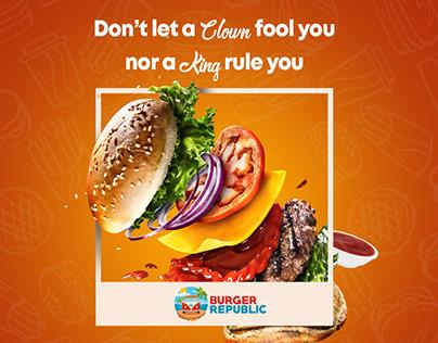Burger Republic Creatives