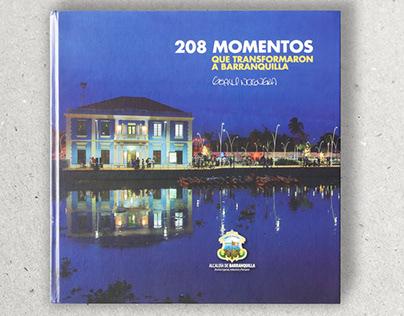 208 momentos / Informe/ Diseño Editorial