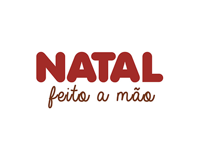 NATAL FEITO A MÃO - Branding