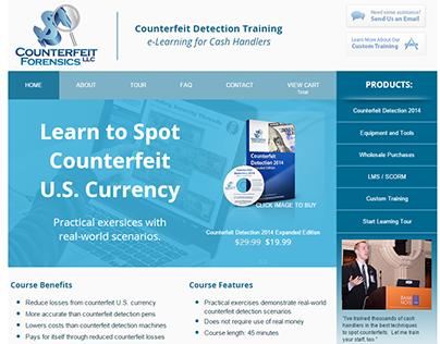 Online Training Program - Custom Web Design
