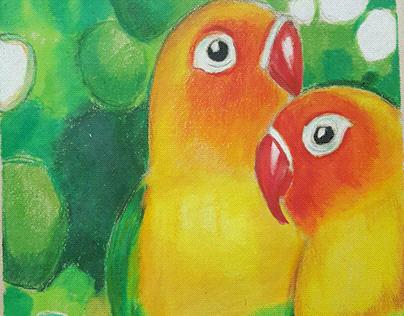 lovebirds view