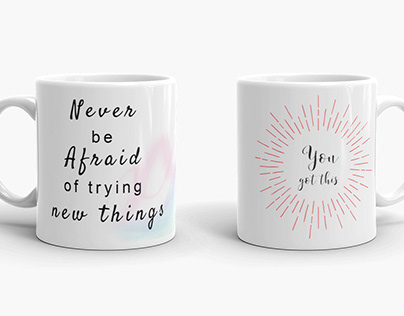 Inspirational Quotes Mug Designs