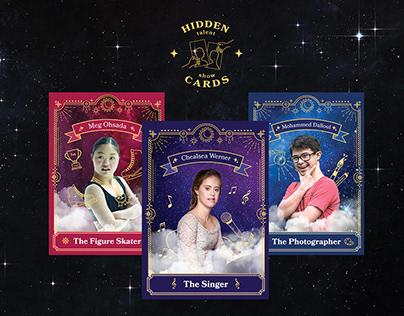 Branding project for Hidden Cards Talent Show