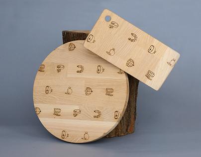 Salumy cutting boards