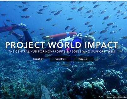 Project World Impact Web Design
