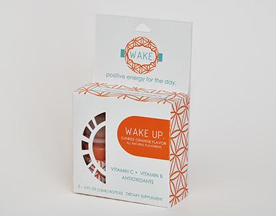 Wake- Packaging Design/ Branding