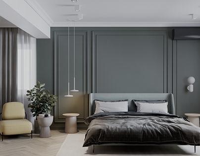 Bedroom, Dressing.