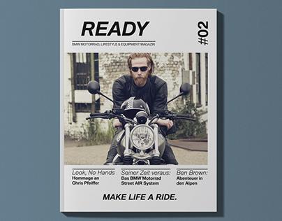 BMW Motorrad READY Magazine 2017