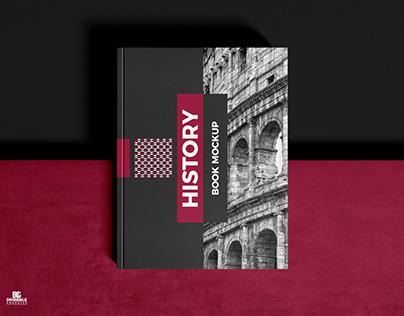 Free Cover Branding Book Mockup