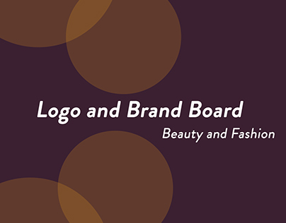Brand Board for a Hairstyle Business