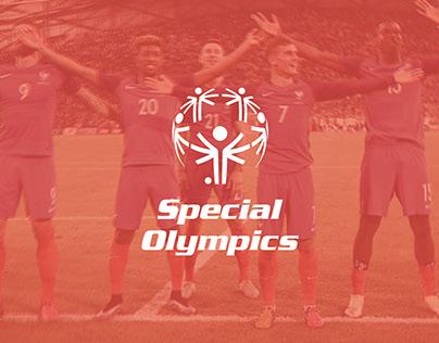 SPECIAL OLYMPICS x FIFA