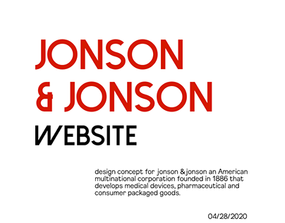 Jonson & Jonson — website