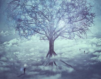 Surreal Photo Manipulation: A Tree