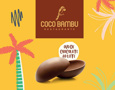 Ovo de Páscoa Coco Bambu