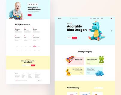Toys Shop - E-commerce Website