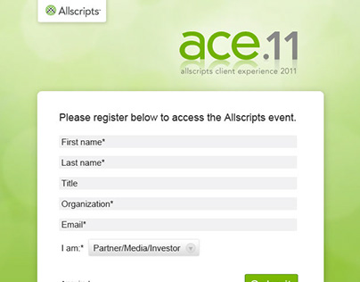 Allscripts Client Experience