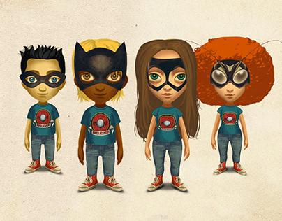 Les Super Heros détestent les artichauts