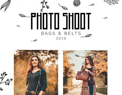 PHOTO SHOOT - BAGS & BELTS 2019