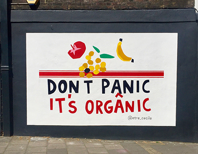 2019 Don't panic it's organic - Etre Cecile