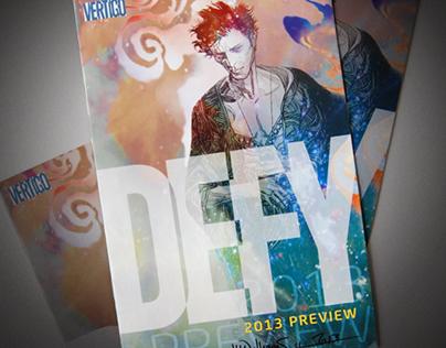 Vertigo Comics Preview Catalog
