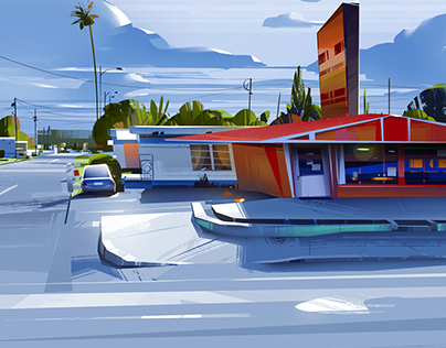 Virtual Plein Air sketches 2