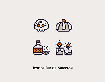 Día de Muertos Icons