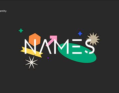 Names Agency identity
