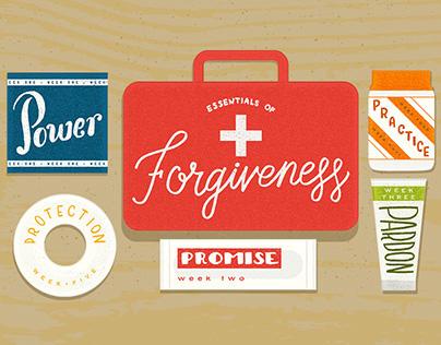 The Rock Church // Essentials of Forgiveness Series Art