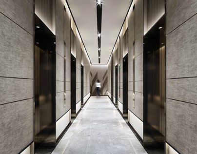 Residential Building Entrance l Dubai