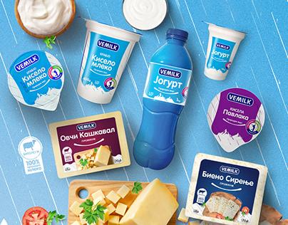 """Vemilk"" Brand Development"