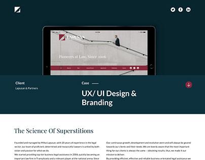 UX/UI Design - Lapusan & Partners