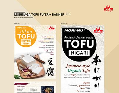 Morinaga Tofu Flyer & Banner