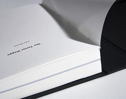 The tartar steppe- book design