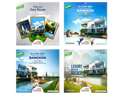 Manipulation : Social Ad design of Real Estate Company