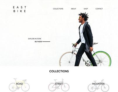 East Bike Website | Ecommerce Website