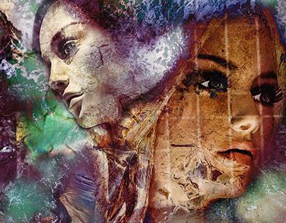 Eternal Stare 2021 - Digital Art by Andrew Kavanagh